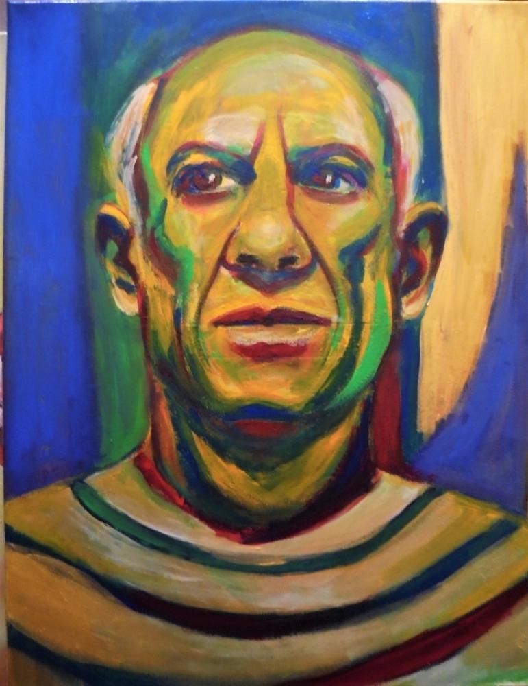 Pablo Picasso by ferrokaro